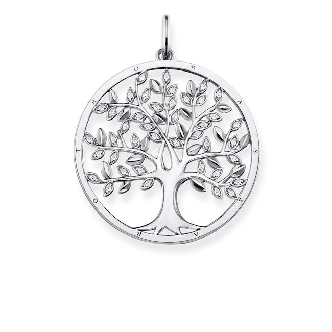 Thomas Sabo Femmes-Cha/îne Tree of Love Glam /& Soul Argent Sterling 925 KE1660-001-21-L45v