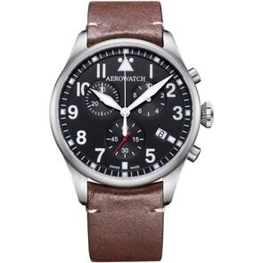 Aerowatch Les Grandes Classiques Aviator Chrono