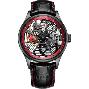 Aerowatch Renaissance Spider Skeleton Noir / Rouge