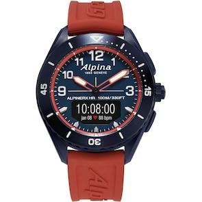 Alpina AlpinerX Alive Smartwatch Bleu / Rouge
