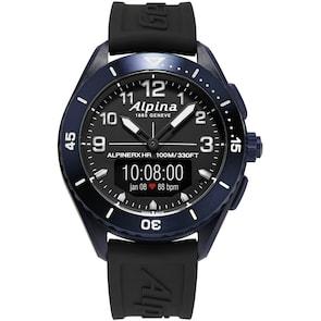 Alpina AlpinerX Alive Smartwatch Bleu foncé / Noir