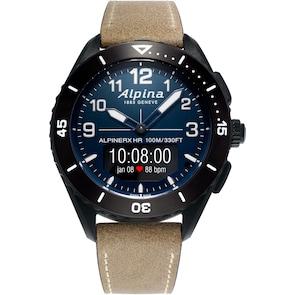 Alpina AlpinerX Alive Smartwatch Noir / Beige