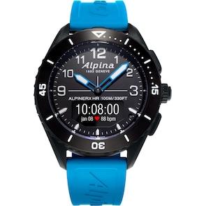 Alpina AlpinerX Alive Smartwatch Noir / Bleu
