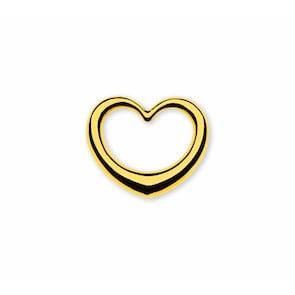 Pendentif 750/18 K or jaune, Cœur