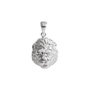 Pendentif argent 925, Lion