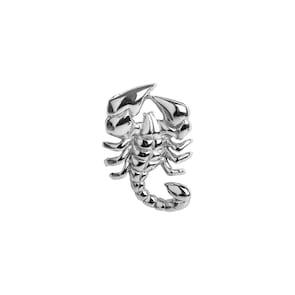 Pendentif argent 925, Scorpion