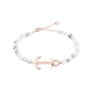 Paul Hewitt Ancre Spirit Bracelet Marble IP Or Rosé