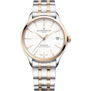 Baume et Mercier Clifton Baumatic 10458 Automatique COSC Ø 40mm