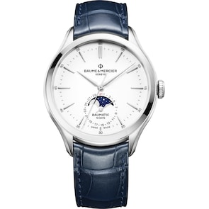 Baume et Mercier Clifton Baumatic 10549 Automatique Phases de Lune