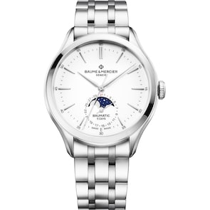 Baume et Mercier Clifton Baumatic 10552 Automatique Phases de Lune
