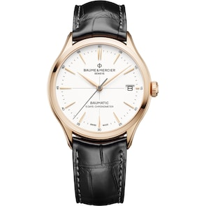 Baume et Mercier Clifton Baumatic Gold 10469 Automatique COSC Ø 39mm