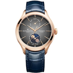Baume et Mercier Clifton Baumatic Gold 10547 Automatique Phases de Lune