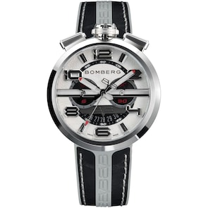 Bomberg 1968 Black & Grey Chronograph