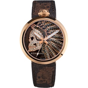 Bomberg 1968 Indian Skull Chocolate Lady