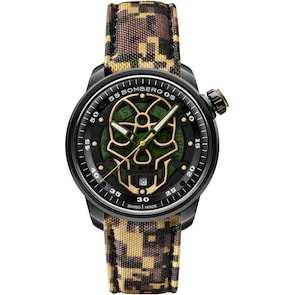 Bomberg BB-01 Automatic Military Skull Limited Edition
