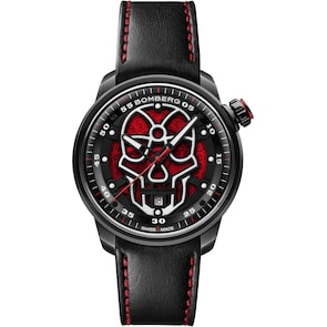 Bomberg BB-01 Automatic Red Skull