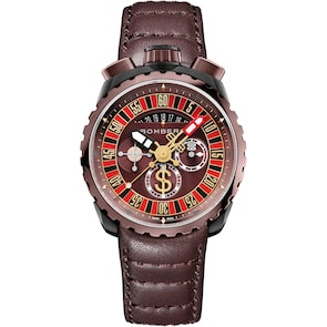 Bomberg Bolt-68 Gambler Red & Brown Special Edition
