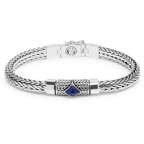 Buddha to Buddha Bracelet Ellen XS Stone Blue 18cm