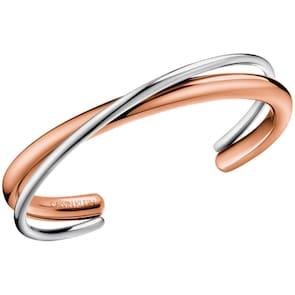 Calvin Klein bracelet jonc ck double