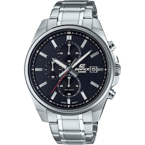 Casio Edifice Classic Chronographe Argenté