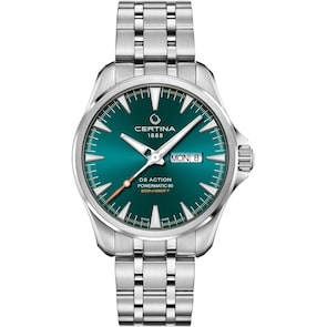 Certina DS Action Day-Date Powermatic 80 Turquoise
