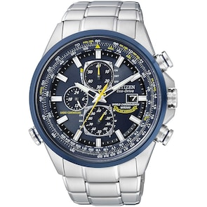 Citizen Promaster Sky World Chrono Blue Angels Eco-Drive Radio Controlled