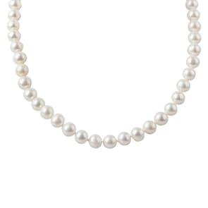 Collier argent 925 avec perles de culture Ø 8mm