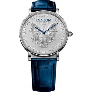 Corum Artisans Coin Watch Silver C082/03059