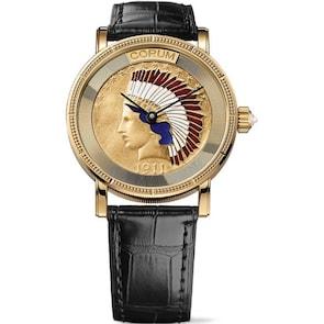 Corum Artisans Indian Coin Watch Gold C082/02355