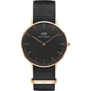 Daniel Wellington Classic Black Cornwall Lady Ø 36mm