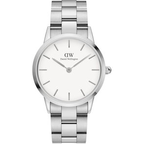 Daniel Wellington Iconic Link 36 Silver White