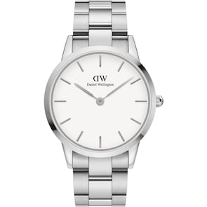 Daniel Wellington Iconic Link 40 Silver White