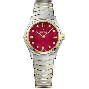 Ebel Sport Classic Lady Retro Red