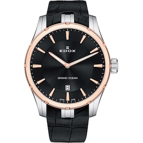 Edox Grand Ocean Ultra Slim Line Date