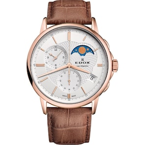 Edox Les Bémonts Chronographe Moonphase