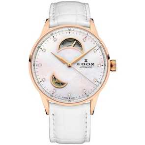 Edox Les Vauberts Open Heart Automatic Lady