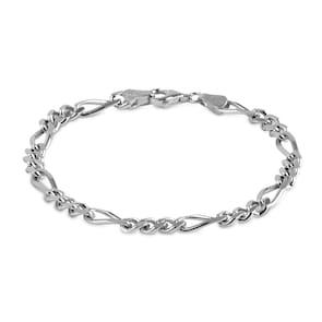 Bracelet figaro argent 925 5.0mm