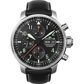 Fortis Flieger Professional Chronographe Day-Date