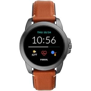 Fossil Classics Gen 5E Smartwatch HR Brun