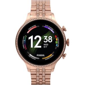 Fossil Gen 6 Smartwatch HR Rosé 42