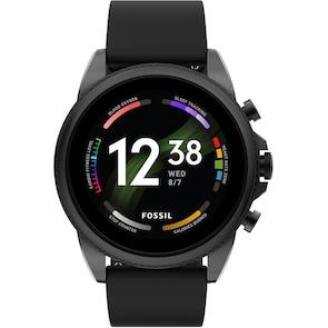 Fossil Gen 6 Smartwatch HR Silicone noir 44