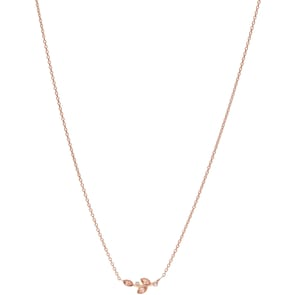 Fossil Collier Vintage Pink Blooms