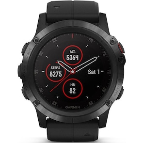 Garmin Fenix 5X Plus GPS-Multisport Smartwatch HR