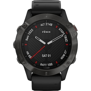 Garmin Fenix 6 Pro Sapphire carbon gray DLC