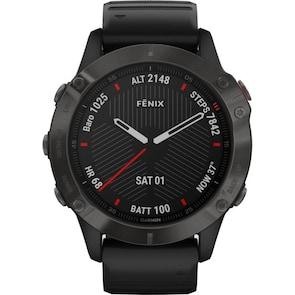 Garmin Fenix 6 Pro Saphir Noir GPS-Multisport-Smartwatch HR