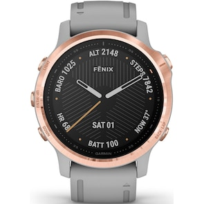Garmin Fenix 6S Pro Sapphire Gris / Rosé