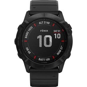 Garmin Fenix 6X Pro Noir GPS-Multisport-Smartwatch HR