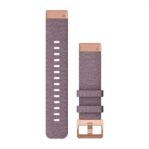 Garmin QuickFit Bracelet en Nylon Pourpre 20mm