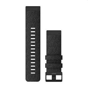 Garmin QuickFit Bracelet en Nylon Noir chiné 26mm