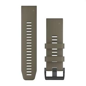 Garmin QuickFit Bracelet en Silicone Coyote Tan 26mm